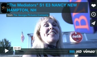 """The Mediators"" S1, E3 ""Nancy, Motorcylist on Scott Walker NH tour"""